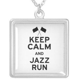 Keep Calm and Jazz Run Custom Jewelry