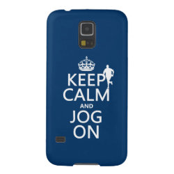 Case-Mate Barely There Samsung Galaxy S5 Case with Keep Calm and Jog On design