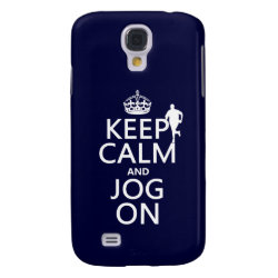 Case-Mate Barely There Samsung Galaxy S4 Case with Keep Calm and Jog On design