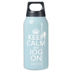 SIGG Thermo Bottle (0.5L) with Keep Calm and Jog On design