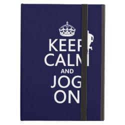 iPad Air Powis Case with Keep Calm and Jog On design