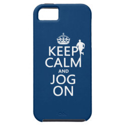 Case-Mate Vibe iPhone 5 Case with Keep Calm and Jog On design