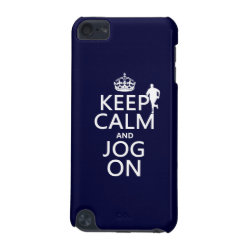 Case-Mate Barely There 5th Generation iPod Touch Case with Keep Calm and Jog On design