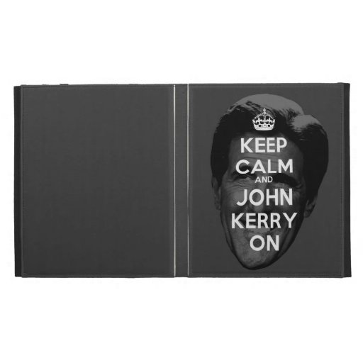 Keep Calm and John Kerry On iPad Case