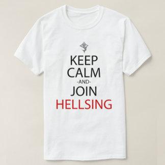 Keep Calm And Join Hellsing Anime Manga Shirt