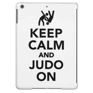 Keep calm and Judo on Case For iPad Air