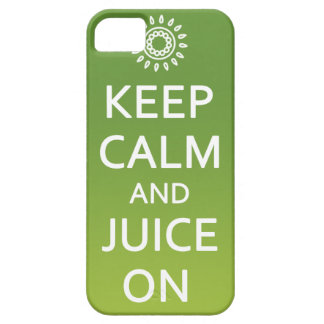 Keep Calm and Juice On! Phone Case iPhone 5 Cover
