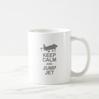 Keep Calm and Jump Jet Coffee Mug