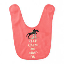 Keep Calm and Jump On Horse Bib