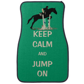 Horse Jumping Car Floor Mats Zazzle