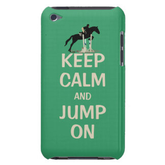 Keep Calm and Jump On Horse iPod Touch Case