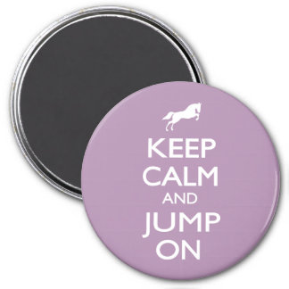 Keep Calm and Jump On Magnet