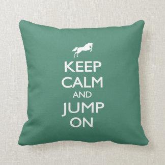 Keep Calm and Jump On Pillows