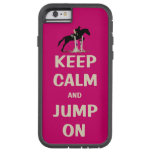 Keep Calm and Jump On Pink Horse iPhone 6 Case