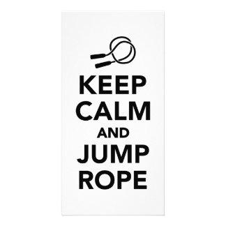 Keep calm and Jump rope Card
