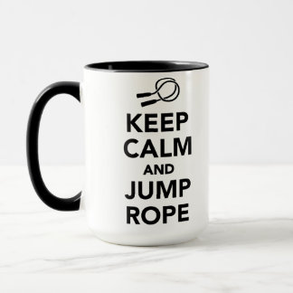 Keep calm and Jump rope Mug