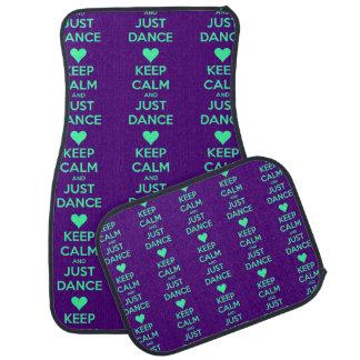 Keep Calm And Just Dance Car Mat