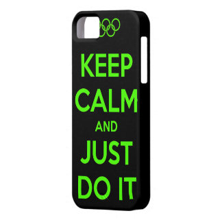 Keep Calm and just do it. iPhone SE/5/5s Case