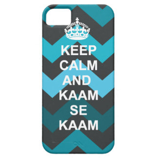 Keep calm and kaam se kaam iphone case iPhone 5 covers