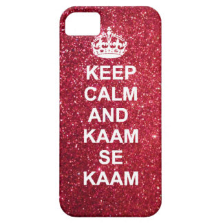 Keep calm and kaam se kaam iphone case iPhone 5 cases