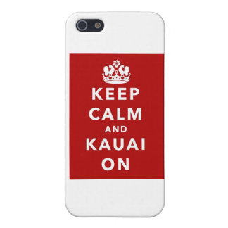 Keep Calm and Kauai On Cover For iPhone SE/5/5s
