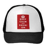 Keep Calm and Kauai On Trucker Hat