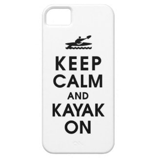 keep calm and kayak funny paddle paddling water ca iPhone SE/5/5s case