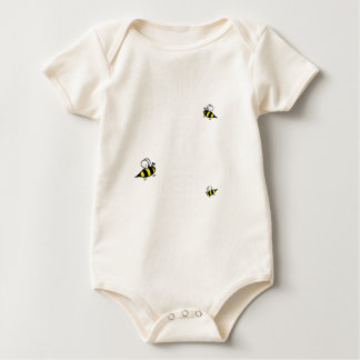 Keep Calm and Keep Bees - all colours Baby Bodysuit