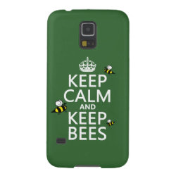 Case-Mate Barely There Samsung Galaxy S5 Case with Keep Calm and Keep Bees design
