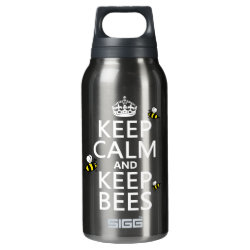 SIGG Thermo Bottle (0.5L) with Keep Calm and Keep Bees design