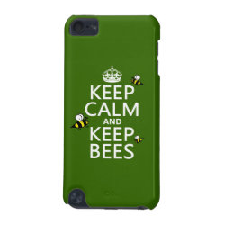 Case-Mate Barely There 5th Generation iPod Touch Case with Keep Calm and Keep Bees design