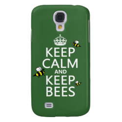 Case-Mate Barely There Samsung Galaxy S4 Case with Keep Calm and Keep Bees design