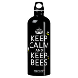 SIGG Traveller Water Bottle (0.6L) with Keep Calm and Keep Bees design