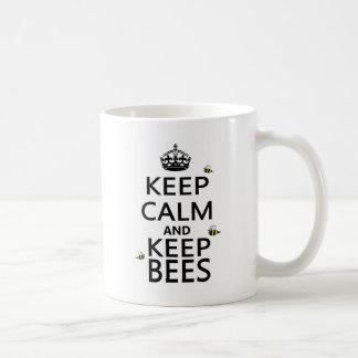 Keep Calm and Keep Bees Mug