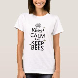 Keep Calm and Keep Bees T-Shirt