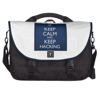 Keep Calm and Keep Hacking Commuter Bags