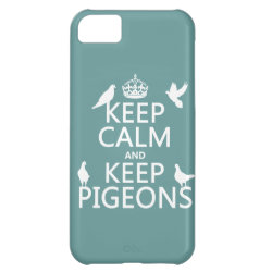 Case-Mate Barely There iPhone 5C Case with Keep Calm and Keep Pigeons design