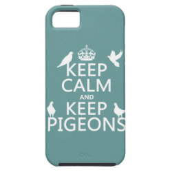 Case-Mate Vibe iPhone 5 Case with Keep Calm and Keep Pigeons design