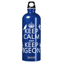 SIGG Traveller Water Bottle (0.6L) with Keep Calm and Keep Pigeons design