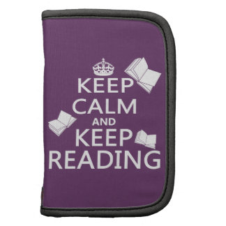 Keep Calm and Keep Reading Planners
