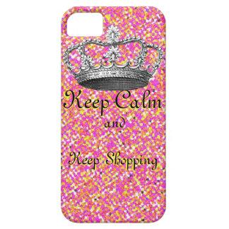 Keep Calm and  Keep Shopping Fashionista iPhone 5 Case