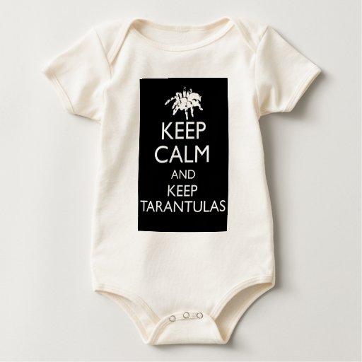 Keep Calm And Keep Tarantulas Bodysuits