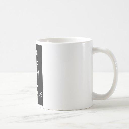 Keep Calm And Keep Tarantulas Classic White Coffee Mug