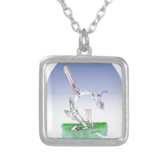 keep calm and keep your head, tony fernandes silver plated necklace