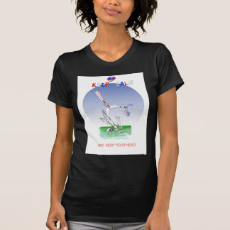keep calm and keep your head, tony fernandes T-Shirt