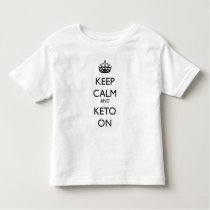 """Keep Calm And Keto On"" T-shirt"