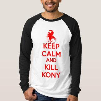 Keep Calm and Kill Kony 2012 T Shirt