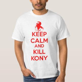 Keep Calm and Kill Kony 2012 Tee Shirt