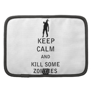 Keep Calm and Kill Some Zombies Organizers