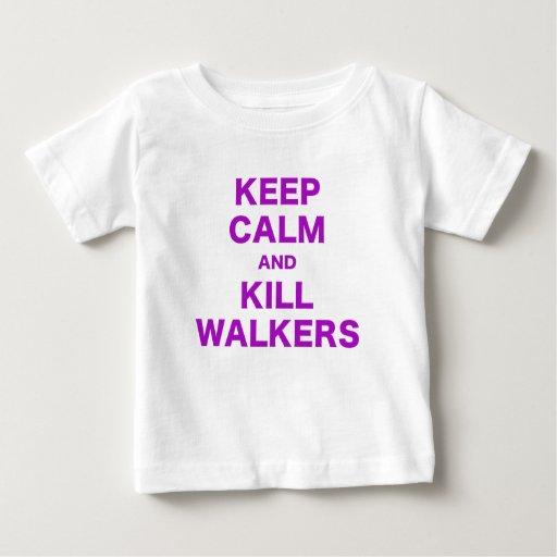 Keep Calm and Kill Walkers Shirts